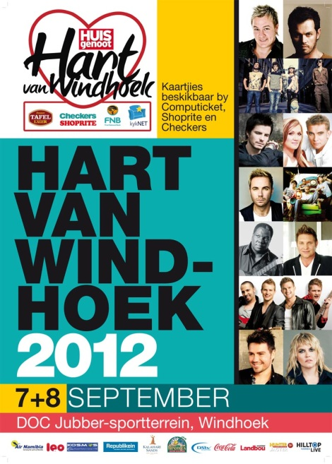Hart van Windhoek-fees